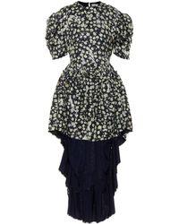 Preen By Thornton Bregazzi Sammie Printed Jacquard Dress - Multicolour