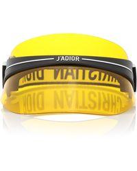 Dior Diorclub1 Acetate Visor - Yellow