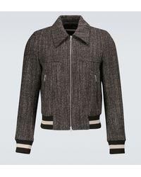 Dries Van Noten Wool Jacket - Brown