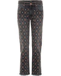 Isabel Marant - Newlan embellished jeans - Lyst