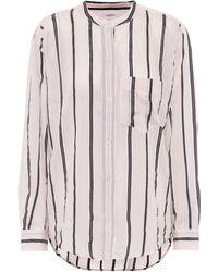Étoile Isabel Marant Camisa Olena en mezcla de algodón - Rosa