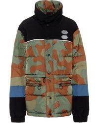 Off-White c/o Virgil Abloh Camouflage Down Jacket - Multicolour