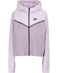 Nike Chaqueta Windrunner de Tech-Fleece - Morado