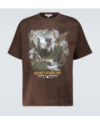 Phipps Camiseta Forest Life de manga corta - Marrón