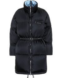 Prada Down Puffer Coat - Black