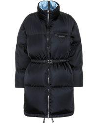 Prada Down Puffer Coat - Black