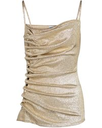 Paco Rabanne - Embellished Stretch-jersey Top - Lyst