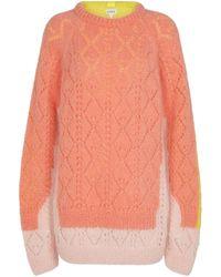 Loewe Jersey en mezcla de mohair y lana - Naranja