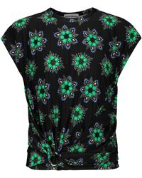 Paco Rabanne - Bedrucktes T-Shirt - Lyst