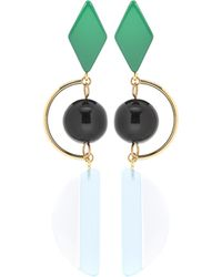 Marni - Beaded Earrings - Lyst