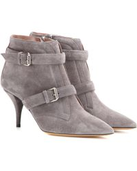 Tabitha Simmons - Fitz 75 Suede Ankle Boots - Lyst