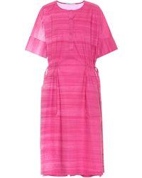 Agnona Cotton Dress - Pink