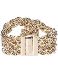 Max Mara Radura Chain Bracelet - Metallic