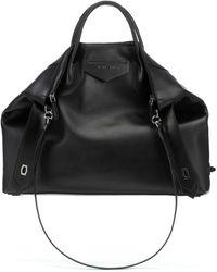 Givenchy Tote Antigona Soft Large de piel - Negro