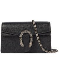 Gucci Dionysus Super Mini Crossbody Bag - Black