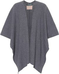 81hours - Xavia Wool-blend Cape - Lyst