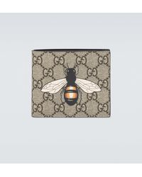 Gucci Geldbörse GG SUPREME - Mehrfarbig