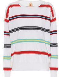 Jardin Des Orangers - Striped Cotton And Cashmere Sweater - Lyst