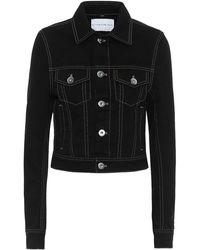 Matthew Adams Dolan Giacca di jeans cropped - Nero