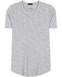 ATM - Cotton-blend T-shirt - Lyst