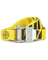 Off-White c/o Virgil Abloh 2.0 Industrial Belt - Yellow