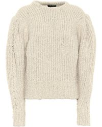 Isabel Marant Enora Alpaca And Wool Sweater - Multicolour