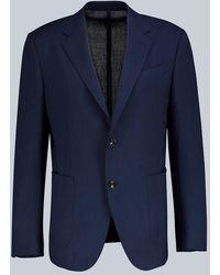 Ermenegildo Zegna Blazer Packaway in lana - Blu