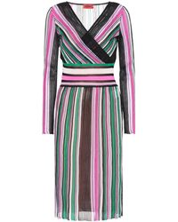 Missoni - Cotton-blend Striped Dress - Lyst