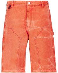 Acne Studios Mid-rise Denim Shorts - Multicolour
