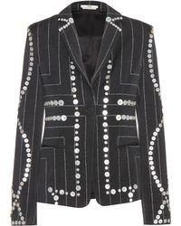 Edun - Embellished Pinstriped Blazer - Lyst