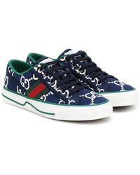 Gucci Sneakers Tennis 1977 - Blu