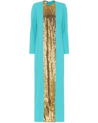 Gucci - Sequined Jersey Gown - Lyst