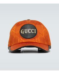 Gucci Off The Grid Baseball Cap - Orange