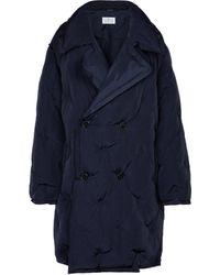 Maison Margiela Reversible Puffer Coat - Blue