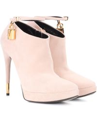 Tom Ford - Suede Ankle Boots - Lyst