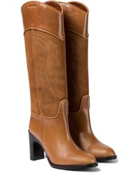 See By Chloé Leather Knee-high Boots - Brown