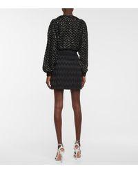 Missoni Exclusive To Mytheresa – High-rise Miniskirt - Black