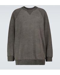 Undercover Oversized Cotton Sweatshirt - Grey