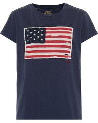 Polo Ralph Lauren - Flag T Shirt - Lyst