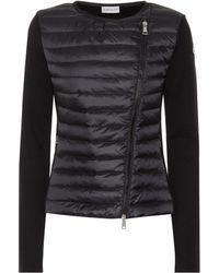 Moncler Jacke aus Shell und Wolle - Schwarz