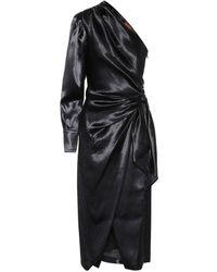 Altuzarra Vestido de crepé - Negro