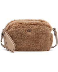 Max Mara Camy Camel Hair-blend Crossbody Bag - Brown