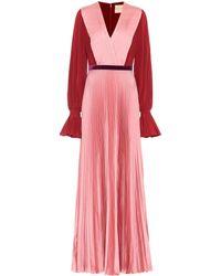 ROKSANDA Rora Silk-crêpe Dress - Pink