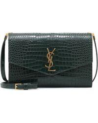 Saint Laurent Uptown Leather Crossbody Bag - Multicolour