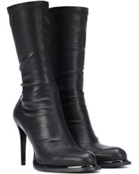 Stella McCartney - Faux Leather Ankle Boots - Lyst