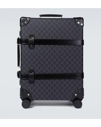Gucci Koffer mit Monogramm-Print - Schwarz