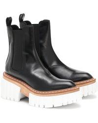 Stella McCartney Chelsea Boots Emilie - Schwarz