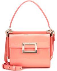 Roger Vivier   Miss Viv' Carré Patent Leather Shoulder Bag   Lyst