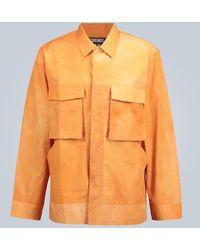 Jacquemus Camicia Soleil in cotone - Arancione