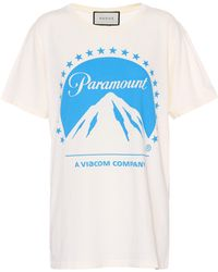 Gucci - Paramount Cotton T-shirt - Lyst